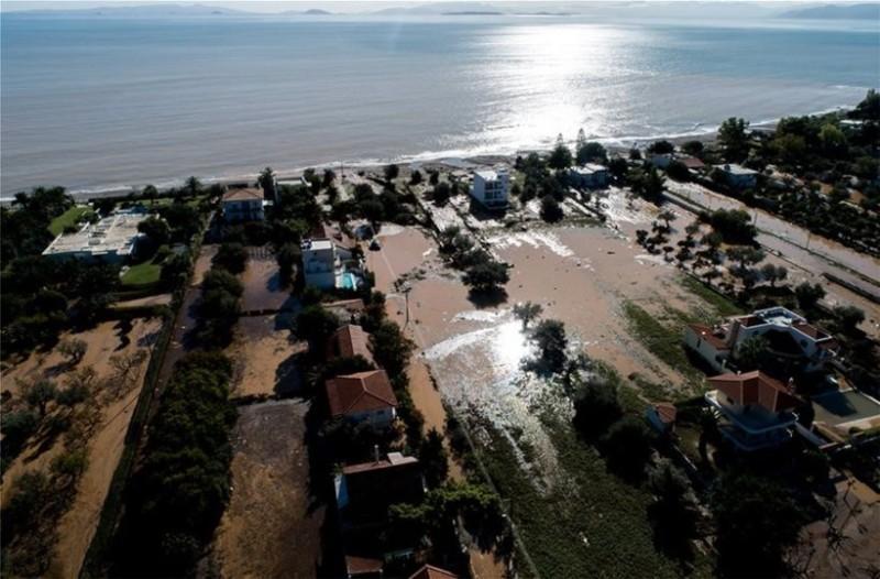 Εικόνα-σοκ από την Κινέτα! Πως κατέγραψε ο δορυφόρος το καταστροφικό πέρασμα της κακοκαιρίας «Γηρυόνης»; (Video)
