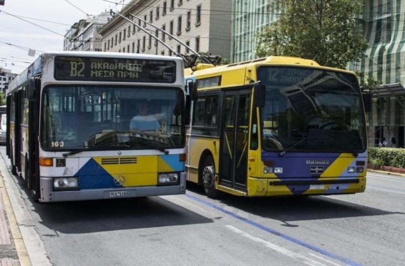 Προσοχή! Αλλάζουν δρομολόγια λεωφορείων και τρόλεϊ!