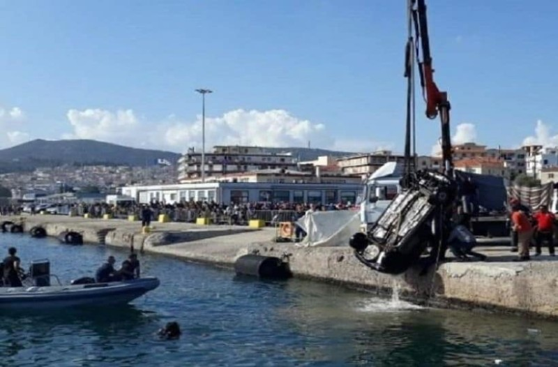 Σοκ στη Μυτιλήνη: Νεκρός άνδρας!  Έπεσε με το αυτοκίνητο στο λιμάνι!