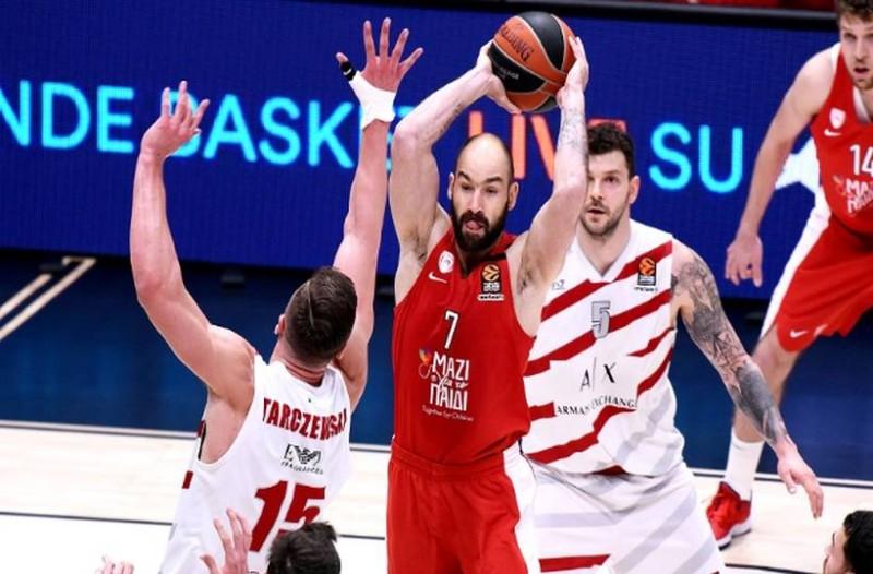 Euroleague: Για βλέψεις 8αδας κόντρα στην Αρμάνι ο Ολυμπιακός!