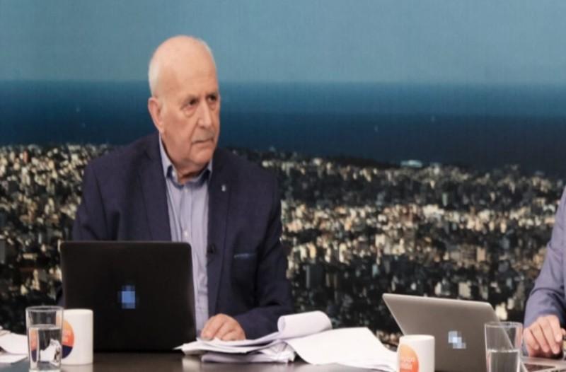 Τρόμος on air για τον Γιώργο Παπαδάκη! Η στιγμή που πάγωσαν όλοι στο πλατό! (Video)