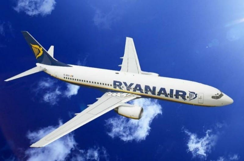 Ryanair: Απίστευτη προσφορά μόνο για σήμερα! Εισιτήρια από... 9,99 ευρώ!