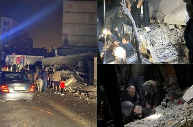 Σεισμός στην Αλβανία: Η Ελλάδα στέλνει βοήθεια! 18 νεκροί και εκατοντάδες οι τραυματίες!
