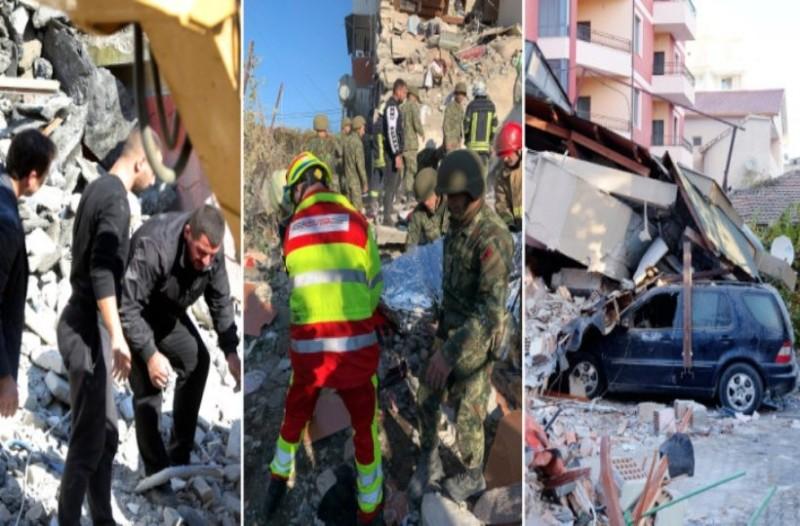 Σεισμός στην Αλβανία: Αυξάνεται ο αριθμός των νεκρών και των αστέγων! Ο στρατός στήνει σκηνές! (Video)