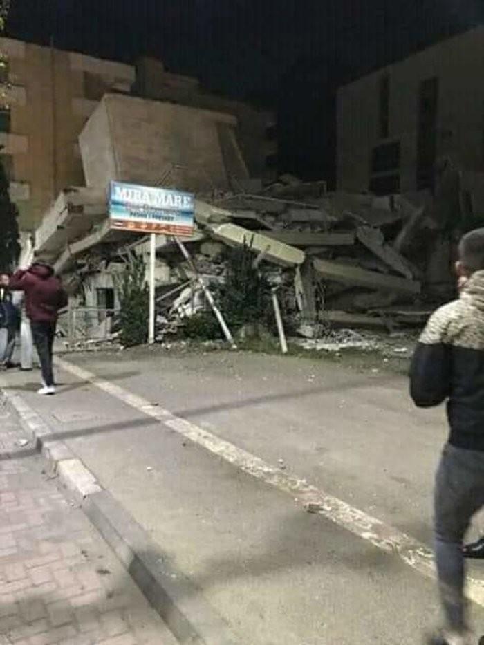 Κτήρια Αλβανία σεισμός