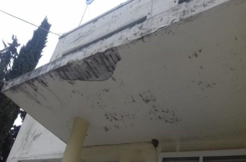 Σοκ στην Κρήτη: Σοβάδες έπεσαν σε κεφάλι παιδιού! (Video)