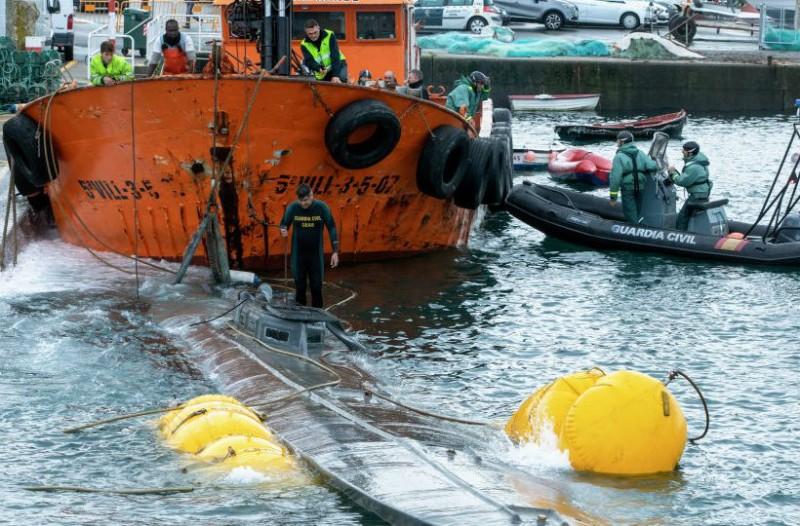 Υποβρύχιο διέσχισε τον Ατλαντικό με 3 τόνους κοκαΐνης αξίας 110 εκ. ευρώ!