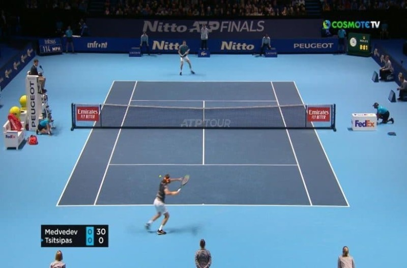 ATP Finals: Ιστορική ημέρα πρόκρισης για τον Στέφανο Τσιτσιπά! (Video)