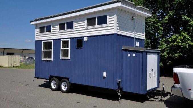 μικρό μπλε σπίτι