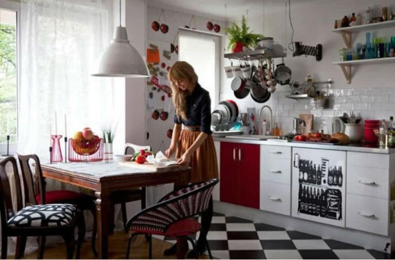 9+1 απλοί τρόποι για να μετατρέψεις την κουζίνα σου σε ένα vintage
