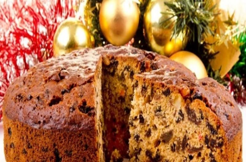 Χριστουγεννιάτικο κέικ με 3 υλικά!