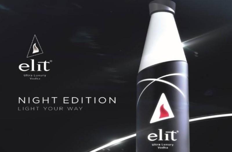 Η elit ultra luxury vodka  παρουσιάζει τη νέα φιάλη Night Edition, μια σπονδή στις σπάνιες ξεχωριστές όψεις του νυχτερινού ουρανού και στην έντονη νυχτερινή ζωή!