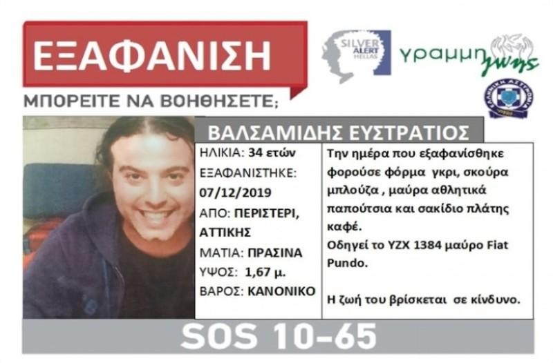 Στράτος Βαλσαμίδης: Νέα στοιχεία για τον θάνατο του. Ενδείξεις για εγκληματική ενέργεια!