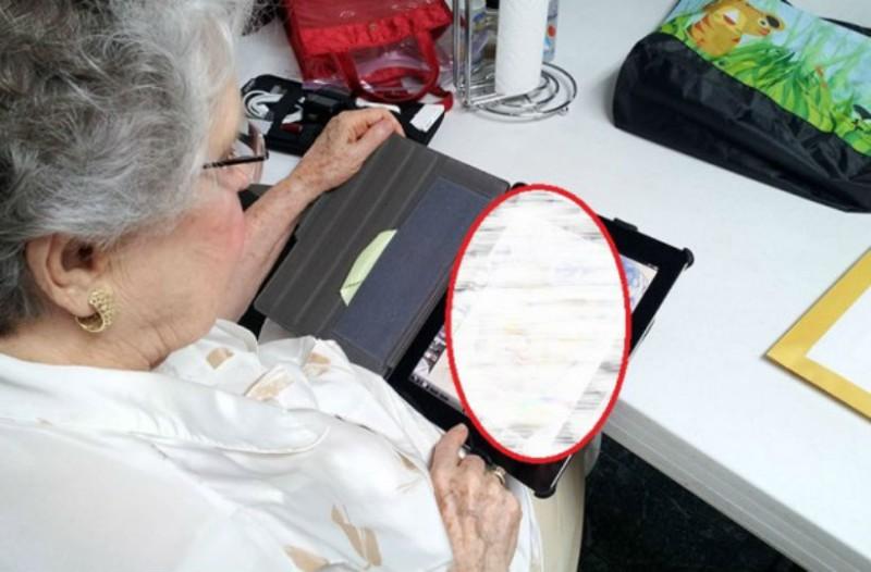 Αγόρασε κι έδωσε στη γιαγιά του ένα ipad. Μετά από μισή ώρα είδε αυτό...