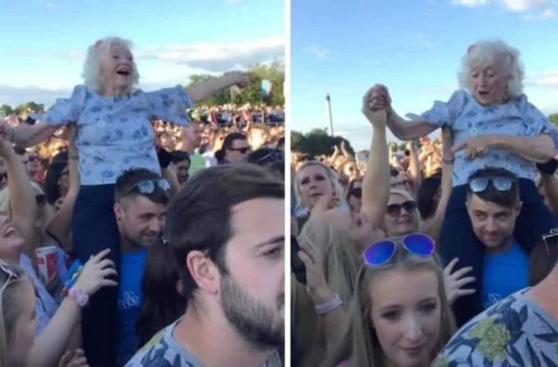82χρονη γιαγιά ανέβηκε σε έναν νέο άνδρα. Αυτό που έγινε στη συνέχεια θα σας αφήσει έκπληκτους!