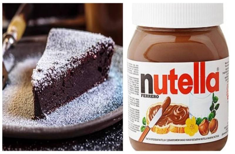 Το πιο εύκολο κέικ nutella που έχετε φτιάξει ποτέ: Έχει 2 πάμφθηνα υλικά και θέλει μόνο 30 λεπτά!