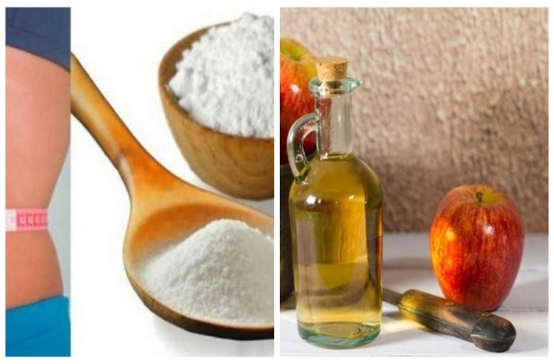 Βάζει σε ένα ποτήρι μαγειρική σόδα και μηλόξυδο  - Αυτό το ''θαύμα'' που θα συμβεί θα σας σώσει μετά τις γιορτές!