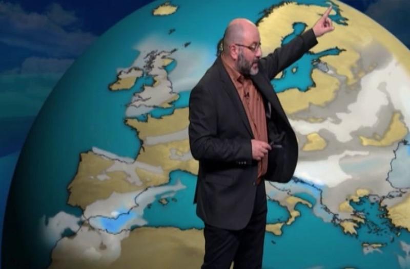 Προειδοποίηση από τον Σάκη Αρναούτογλου! Που θα χιονίζει από το βράδυ; (Video)