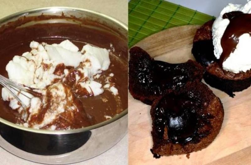Σουφλέ σοκολάτας χωρίς αλεύρι για αρχάριους: Εύκολο και νόστιμο γλυκό που θα εντυπωσιάσει τους καλεσμένους σας
