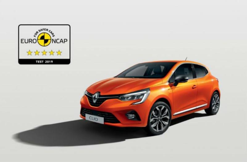 Το All-new Renault CLIO προσφέρει κορυφαία ασφάλεια 5 αστέρων!