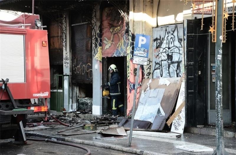 Συνελήφθη 56χρονος για την πυρκαγιά στο κτίριο της Ερμού!