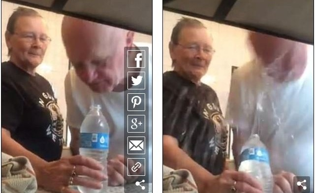 Η γιαγιά είπε στον παππού να δοκιμάσει ένα κόλπο...δευτερόλεπτα μετά μετάνιωσε την στιγμή που δέχτηκε!