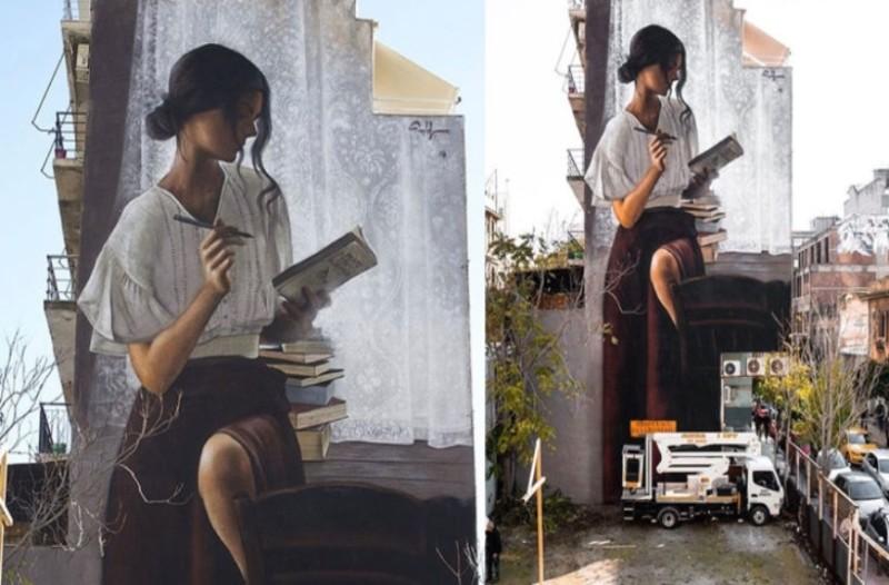 Αθήνα: Το νέο γκράφιτι στο κέντρο που μαγεύει τους περαστικούς!