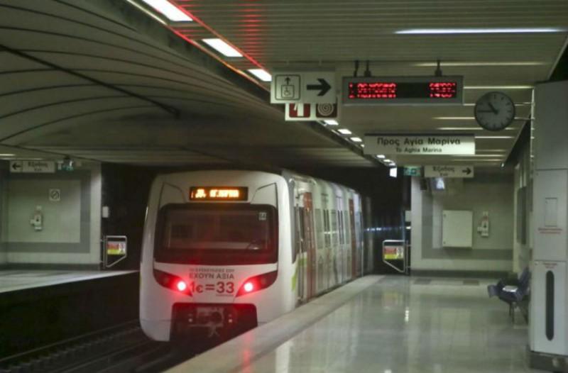 Μεγάλη ταλαιπωρία για τους επιβάτες του Μετρό στη γραμμή Αγία Μαρίνα - Δουκίσσης Πλακεντίας!