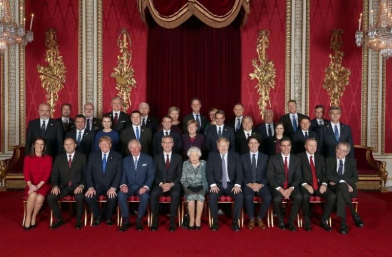 Στο Μπάκινγχαμ ο Κυριάκος Μητσοτάκης! Όλοι οι ηγέτες του ΝΑΤΟ μαζί!