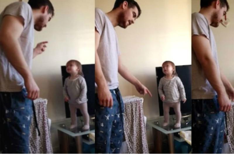 Αυτός ο μπαμπάς δυσκολεύεται να μαλώσει την κόρη του γιατί είναι αξιολάτρευτη!