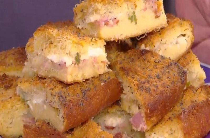 Πίτα κανταΐφι με κοφινάκι! (Video)