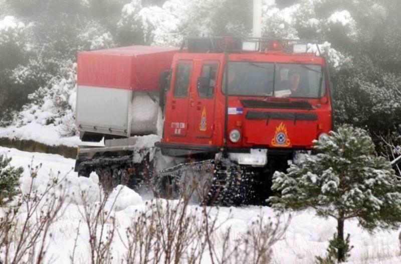 Εξελίξεις με τον 27χρονο που είχε εγκλωβιστεί στα χιόνια στα Δερβενοχώρια!