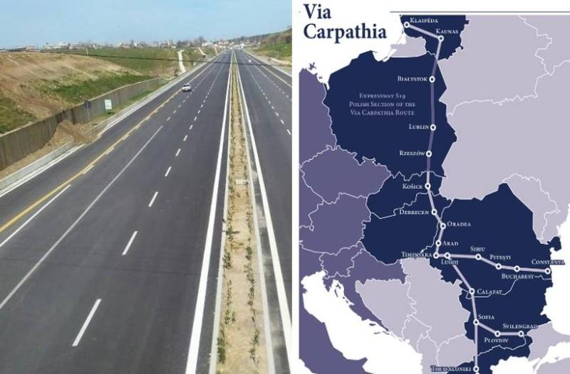 Καρπάθια οδός: Ο νέος δρόμος που θα συνδέει την Θεσσαλονίκη με 6 χώρες και θα φτάνει μέχρι και την... Λιθουανία!