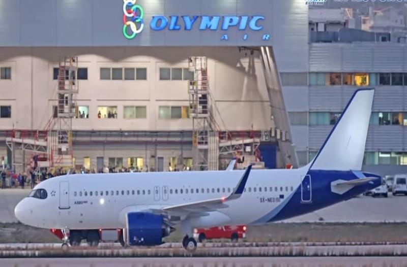 Aegean: Έτσι θα είναι τα νέα της αεροπλάνα! Βίντεο από το πρώτο Airbus A320neo από το αεροδρόμιο της Αθήνας!