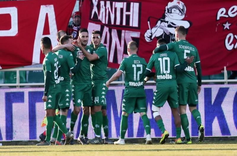Super League: Σε τρομερή φόρμα ο Παναθηναϊκός, πέρασε από την Ξάνθη! (videos)