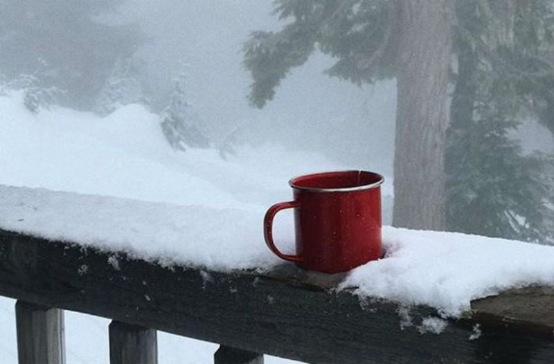 Η φωτογραφία της ημέρας: Καλημέρα σε όλους από το χιονισμένο τοπίο!