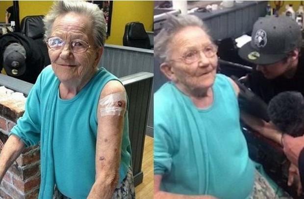 γιαγιά τατουάζ