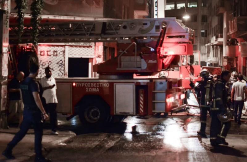 Φωτιά σε διαμέρισμα στο κέντρο της Αθήνας!
