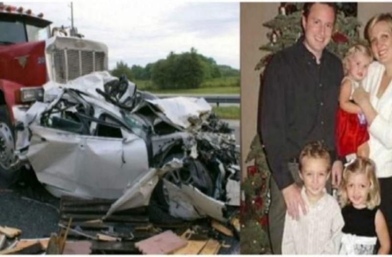 Γυρνώντας σπίτι, τους χτύπησε ένα φορτηγό και χάσανε τα 3 τους παιδιά! Η μοίρα όμως κάτι ακόμα τους επιφύλασσε!