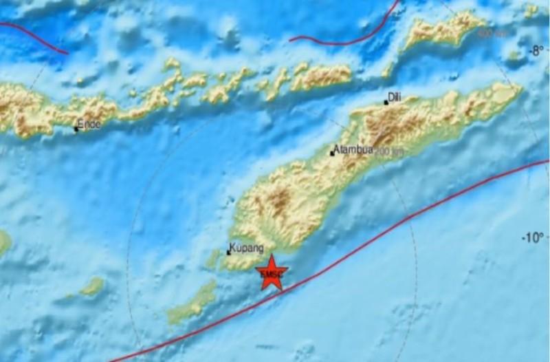 Ισχυρός σεισμός στην Ινδονησία!
