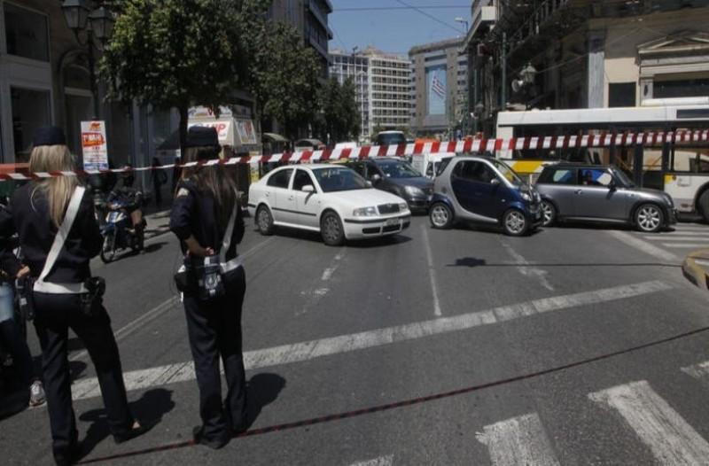 Κλειστοί δρόμοι στο κέντρο της Αθήνας!