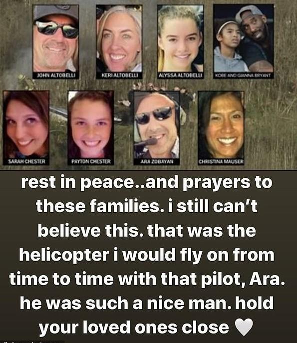 Παραλίγο νεκρή διάσημη σταρ του Χόλιγουντ! Ποια ήταν να πετάξει στο ελικόπτερο του Κόμπι Μπράιαντ;