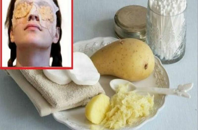 Ανακατεύει μια πατάτα με μέλι και ένα ακόμα συστατικό και το βάζει στα μάτια της...Θα τρέξετε να το κάνετε!