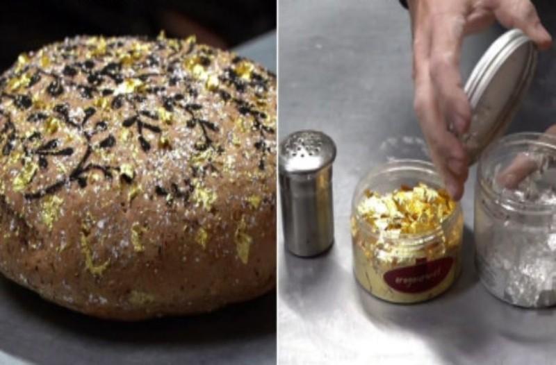 Ψωμί από… χρυσό! Ζυγίζει 400 γραμμάρια και κοστίζει 1380 ευρώ!