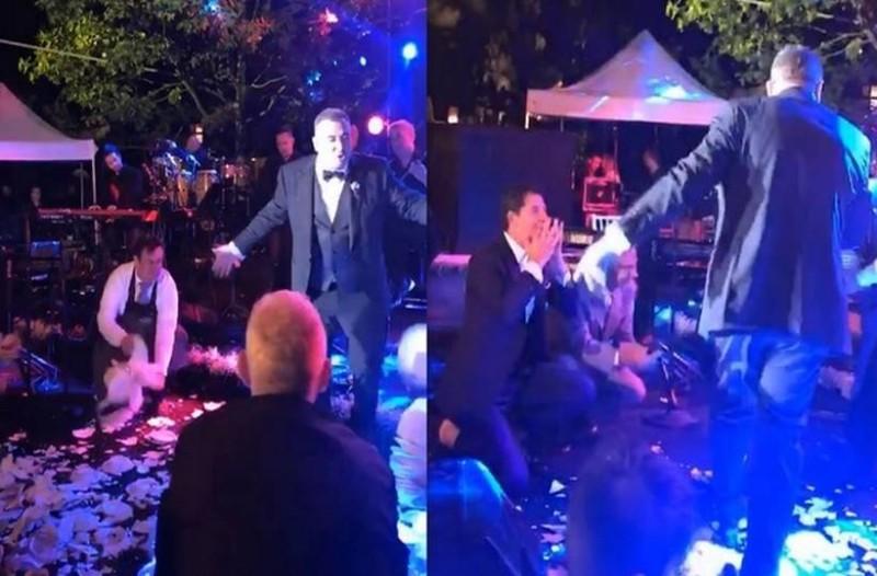 Έλληνας τραγουδιστής παντρεύεται και στον γάμο του