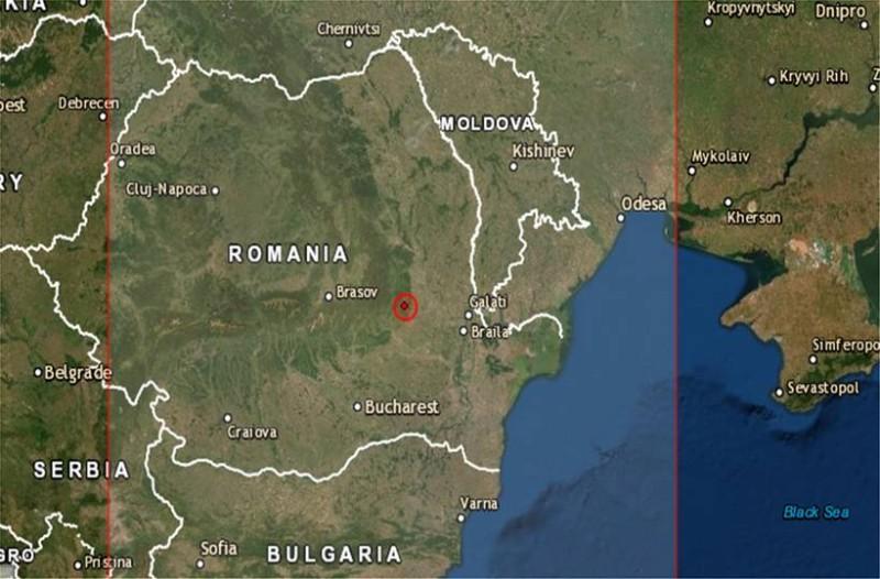 Ισχυρός σεισμός στην Ρουμανία!
