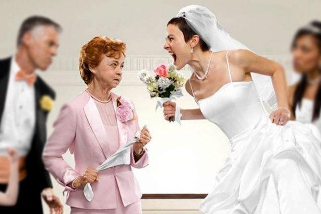 νύφη πεθερά