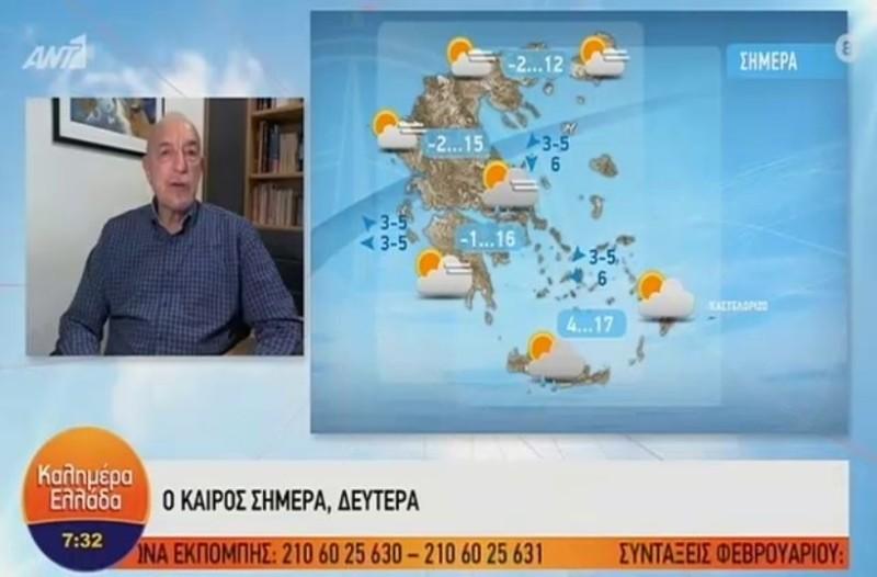 Τάσος Αρνιακός: Βροχερή εβδομάδα με χιονοπτώσεις στα ορεινά! (Video)
