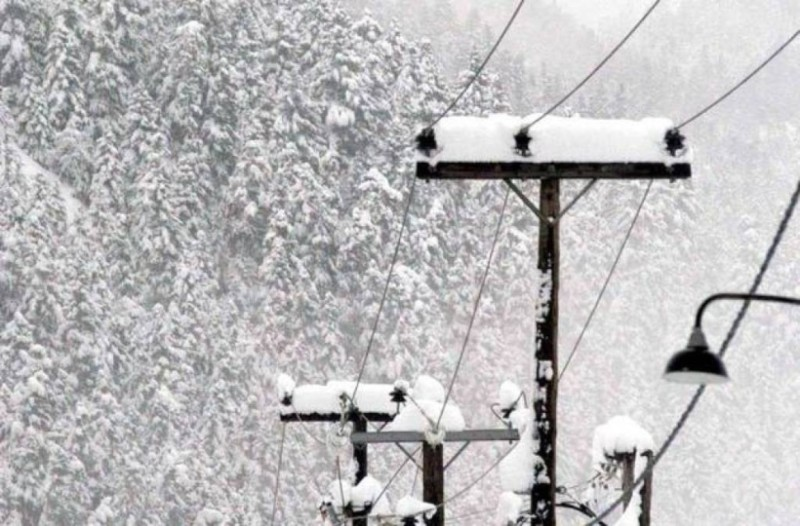 Εύβοια: Χωρίς ρεύμα χωριά σε Αλιβέρι, Κύμη!