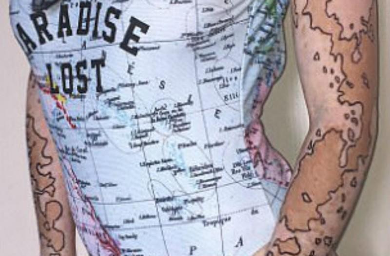 Αυτή η κοπέλα έχει ζωγραφισμένο στο σώμα της έναν ολόκληρο χάρτη! Μόλις μάθετε το λόγο θα τη χειροκροτήσετε!